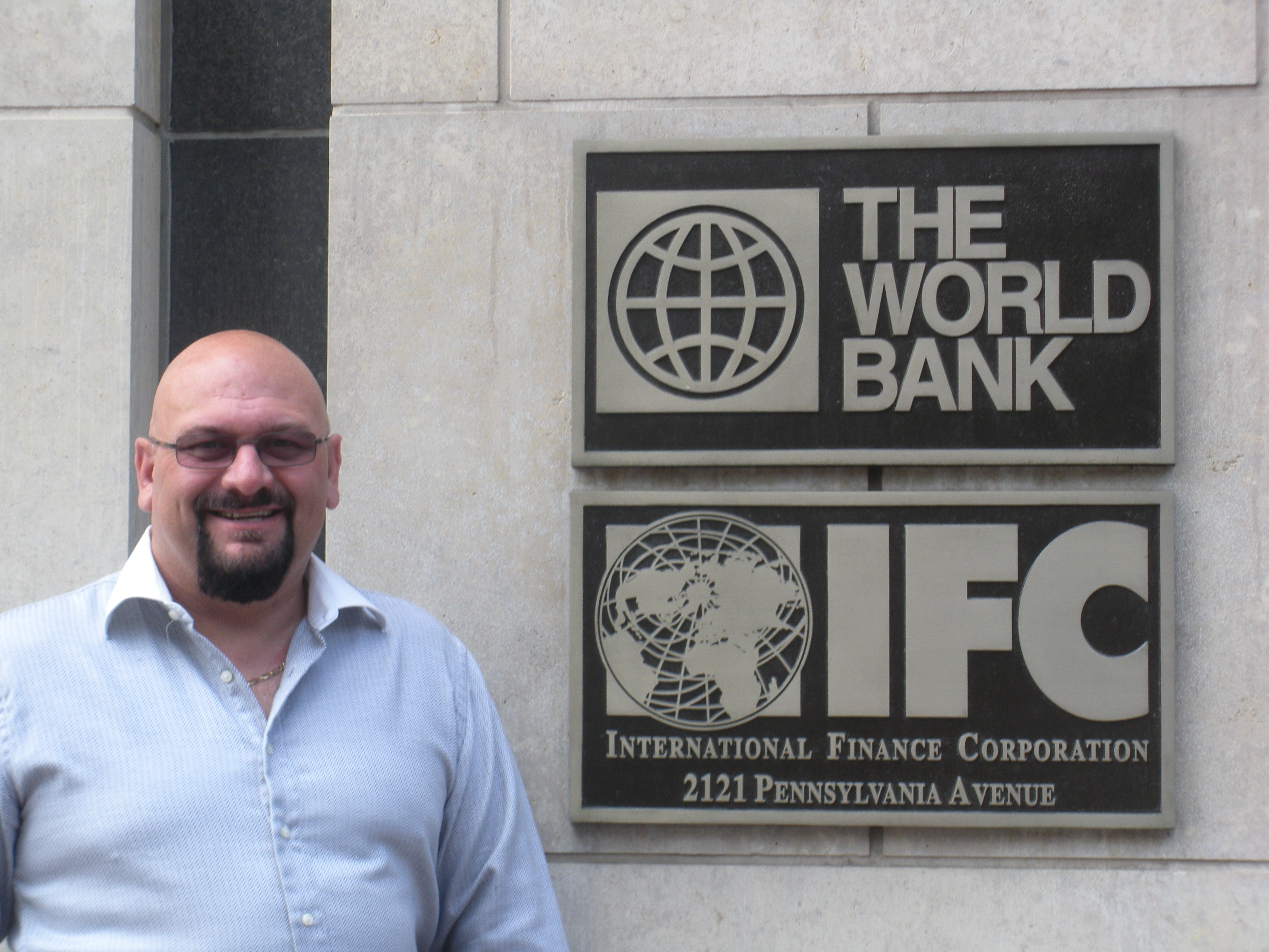 Paul Ormonde-James at World Bank